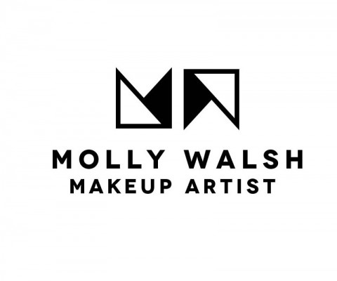 Logo for Molly Walsh, Makeup Artist