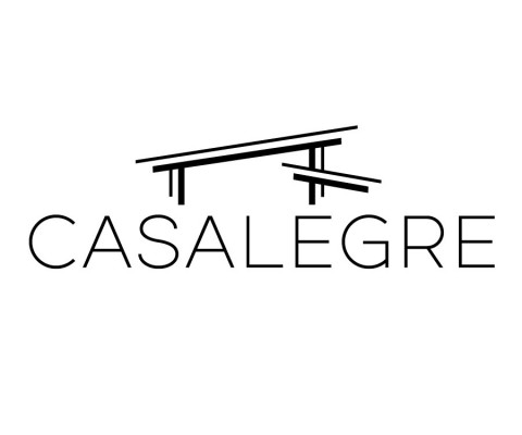 """Casalegre"" (2015) Logo design commission for private residence."