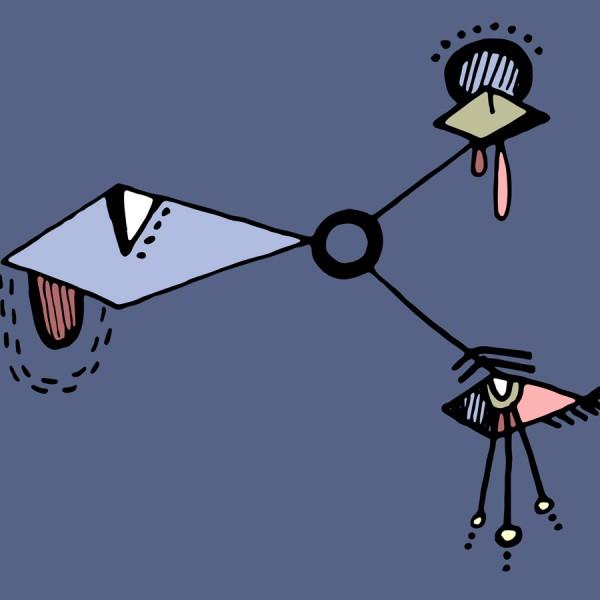"""""""Rhombus Eye Triad"""" (2016)"""