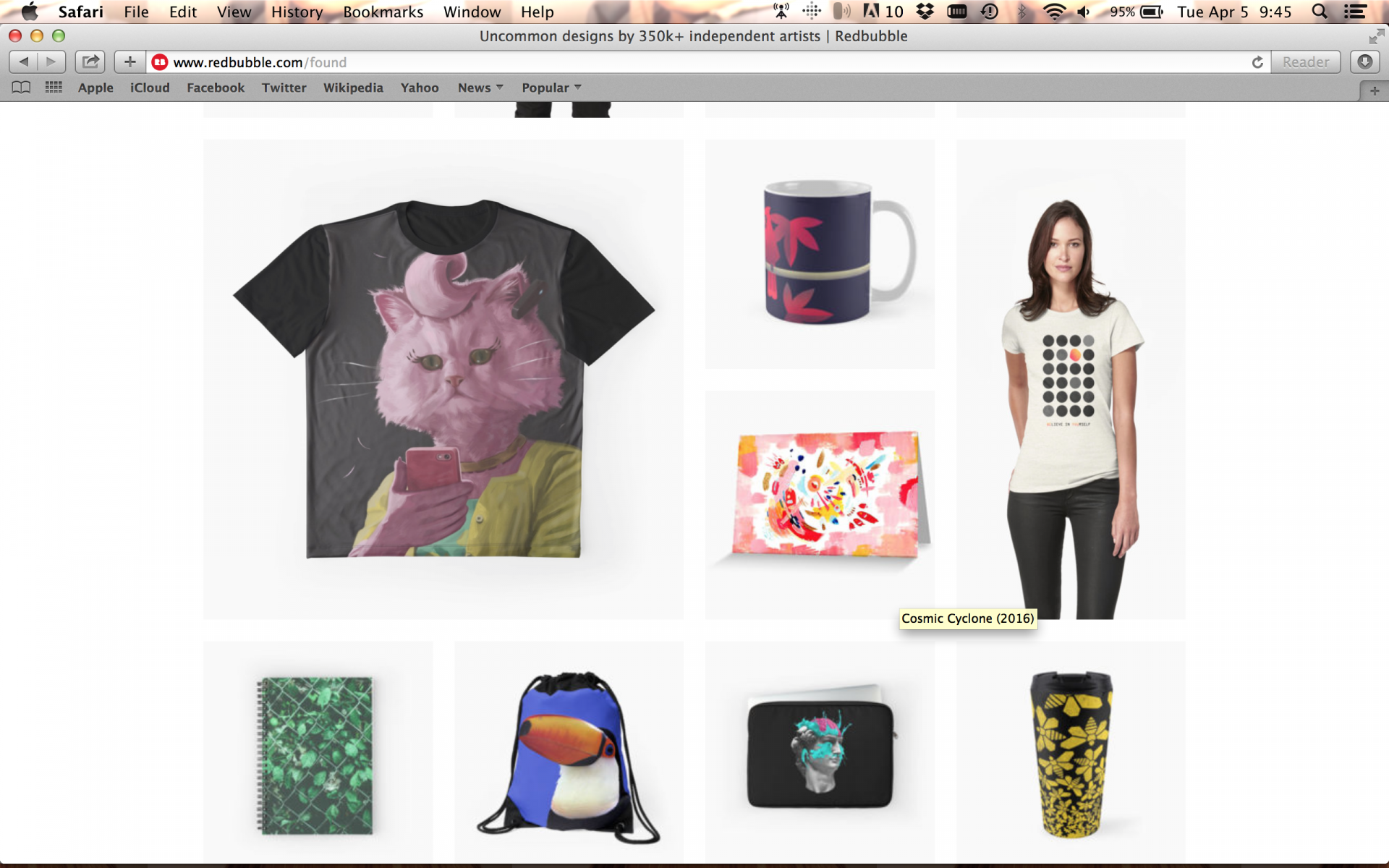 Image of Redbubble Found Screenshot