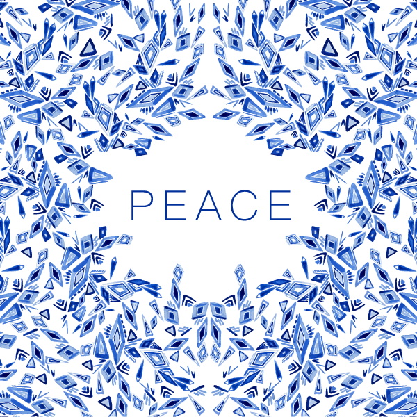 """Peace"" Greeting Card Design (2018)"